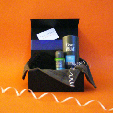 Dove men gift sets, gifts for him, boys pamper gifts delivered, Father's Day gifts, gifts for men, pampering present for men