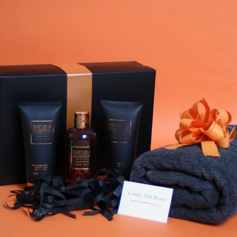 Birthday gift ideas for him, Baylis and Harding gifts for him, pamper gift sets ...