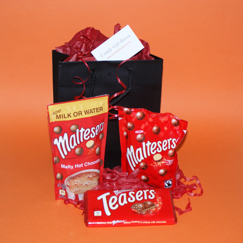 Small thank you gifts, Maltesers chocolate selection gifts UK, small Maltesers gifts, thank you presents UK, mini chocolate gifts for him, Maltesers gifts UK delivery