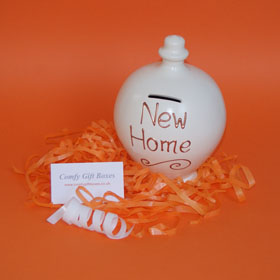 New home housewarming gift, house warming money pot gift, moving home gifts UK, housewarming gifts UK