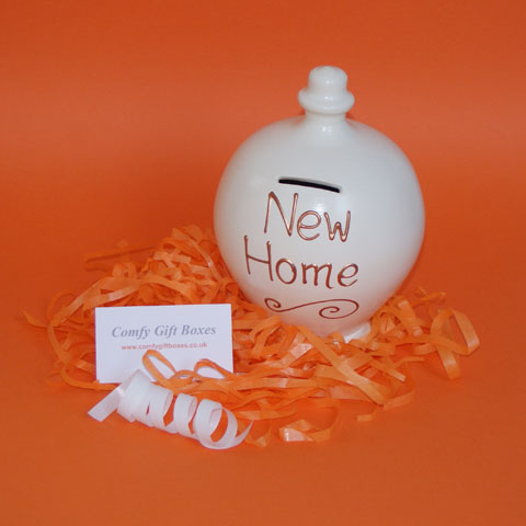 New home housewarming gift, house warming money pot gifts delivered UK