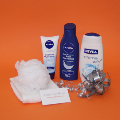 Nivea creme pamper gifts for women, Birthday gift ideas for her, Birthday present ideas, gifts for her, care packages for her