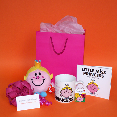 Get well soon gifts for young girls, fun get well gifts for girls, get well gifts for teenagers, Little Miss Princess gifts UK delivery, gifts for girls in hospital