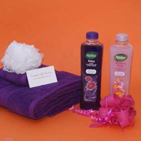 Relaxing bath gifts for her, Gift for bath time, bathing pampering gifts
