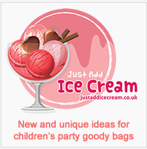 New ideas for childrens party bags, differnt party bags for childrens parties UK delivery